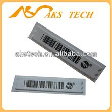 Reliable am 58KHz sensormatic security label sticker