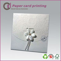 Good looking paper wedding &birthday invitation card