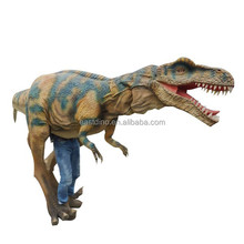3m long Dinosaur costume with 7 movements