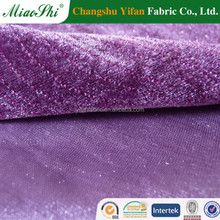 Breathtaking starry sky design two way stretch velour for garment