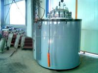 Tilt pouring oil melting furnace
