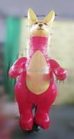waha customized good quality inflatable kangaroo/inflatable cartoon