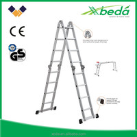 2015 construction tools manufacturer new products folding aluminium ladder lidl in order