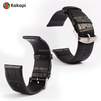 Real Genuine Crocodile leather Watchband Replacement Wrist Band Straps for Apple Smart Watch i watch Strap 38mm 42mm