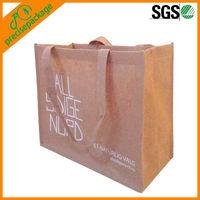 Eco friendly bamboo fiber non woven shopping tote bag (PRA-885)