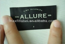 2015 China cheap customized high quality woven clothing label
