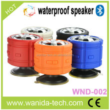 2014 New Unique Design With Tire waterproof pool floating bluetooth speakers