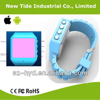 Fashionable multifunctional handsfree watch mobile phone with bluetooth