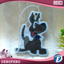 car paper air freshener for advertising or promotional