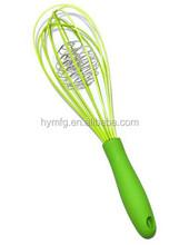 plastic handle novelty silicone egg whisk