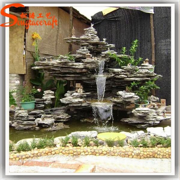 Caliente venta moldes para pared moderna fuente del jard n for Fuentes de cascada para jardin