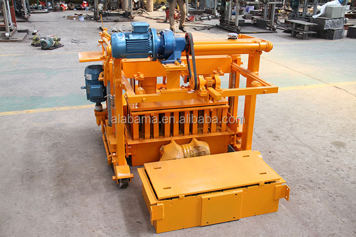 Cement Block Machines : Made in china block machine for sale concrete making
