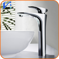 Brass silver wash basin tap for laundry