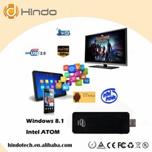 new arrival 2G 32G win8.1 Intel Atom Z3735F wintel mini pc Windows8.1 Pocket Mini Computer