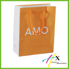 Manufacturer High Quality Kraft Paper Shopping Handbag