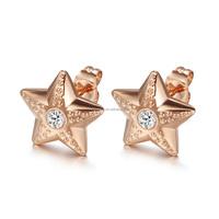 Fashion Beautiful stainless steel earrings jewelry wholesale for friend 2015