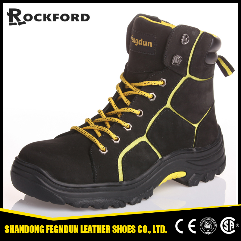 cool slip resistant genuine leather boots for