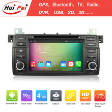 Huifei Android 4.4 1024*600 Capacitive Touch Screen 2 Din Car Radio For Bmw E46