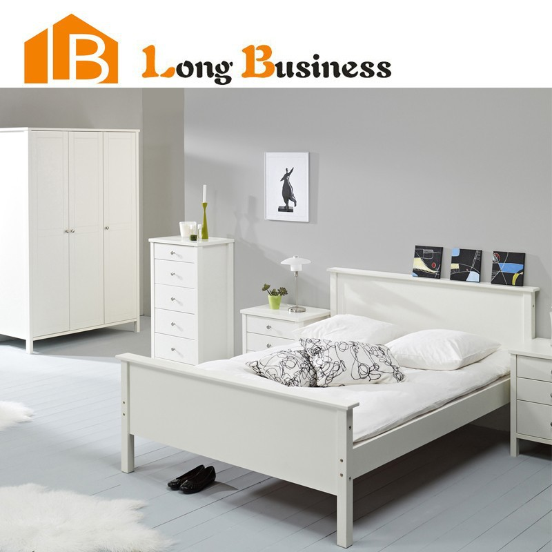 lb dd5001 modern white painting bedroom furniture bed buy bed modern furniture beds cheap. Black Bedroom Furniture Sets. Home Design Ideas