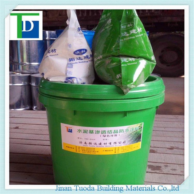 Crystalline Waterproofing Elevator Pit : China td das cementitious capillary crystalline coating