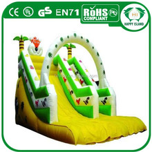 HI CE hot sale best rated inflatable water slides