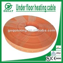 Ultra thin Flat snow melting heating cable