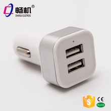 Dual usb car charger for Andriod Iphone WPS usb lighter usb for car charger