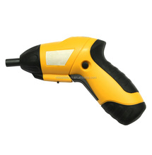 4.8V Cordless screwdriver,rechargerale battery, Rotary handle with dual angle