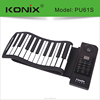 MIDI Keyboard Controller with 61 Weighted Keys Piano for PC