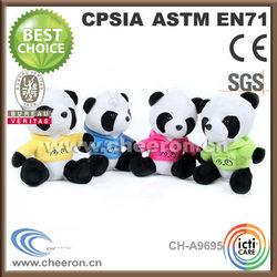 Plush big eyes panda, Customed plush big eyes panda, Wholesale plush big eyes panda