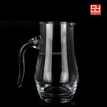 In stocks leadfree crystal manufacture drinking water pitcher jar factory popular model