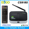 2015 Hot Selling free samples with free shipping CS918S Quad-Core Mali-400 2g 16g BT4.0 4K android set top box