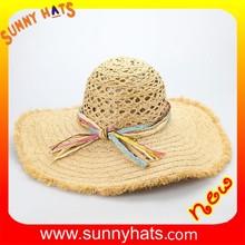 SHL-1685 Fashion Dress Madagascar Raffia Straw Hats Wholesale
