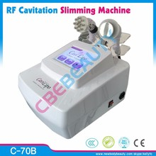 C-70B Best quality Cavitation radio frequency skin tightening machine for home use