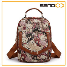 China Factory Direct Sale Cartoon Picture of School Bags Prices, Wholesale Cartoon Character School Bags