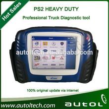 Ps2 escáner para vehículos diesel, xtool ps2 pesado deber, actualización gratuita envío rápido en la acción