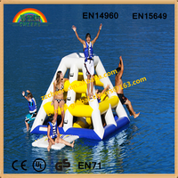 Inflatable water park sports and inflatable water climbing tower