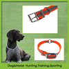 Durable pvc dog collar in red wth O ring