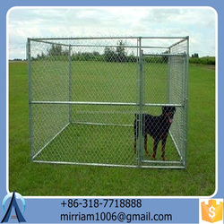 2016 hot sale wrought iron dog kennel/pet house/dog cage/run/carrier