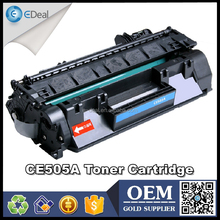 CE505A empty refill printer toner for HP Laser P2035 P2055 toner cartridge with chip