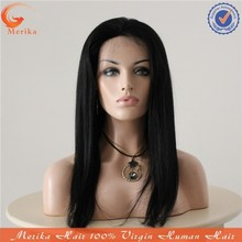 2015 New Arrival Manufacturer Price human hair lacefront wigs 100% Peruvian Hair Lace Wig