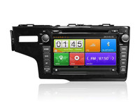 auto stereo audio dvd player gps navigation with OBD/DVR/DSP For Honda Fit
