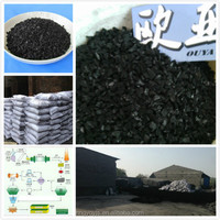 Petroleum plant solvent recovery coal-based granular activated carbon
