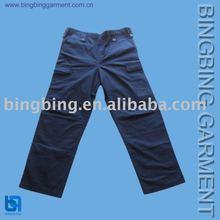 2013 new design men's cargo denim pant