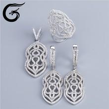 silver wedding jewellery sterling silver blanks wholesale 925 silver jewelry set