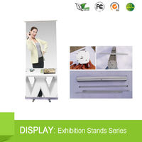 hot sales wide base roll up banner stand trading company