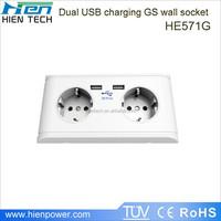 USB socket max power 250v for European area using