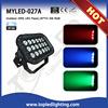 Auto running 18*Tri-3W rgb power ip65 waterproof outdoor 50w led flood light