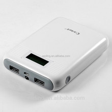 2015 led and lcd display powerbank 10000mah and power bank for macbook pro /ipad mini