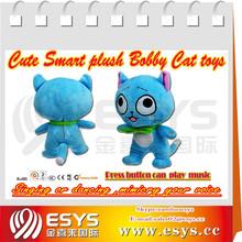 Funny Tone Talking Cat Talking Animal Toys Speaking Hamster Plush Hamster
